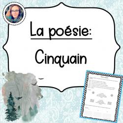 La poésie: Cinquain