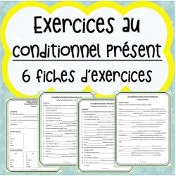 Fiches d'exercices - Conditionnel présent