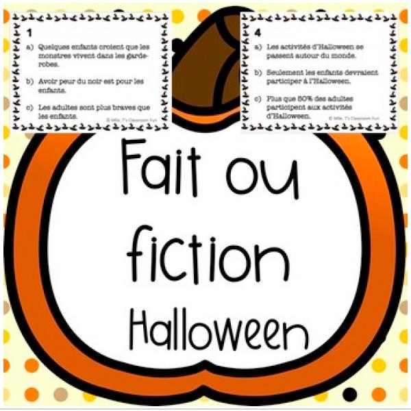 Les opinions d'Halloween - Fait ou Opinion