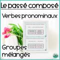 Cartes BOOM - Passé composé - Verbes pronominaux