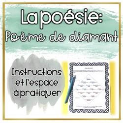 La poésie: Poème de diamant