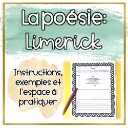 La poésie: Limerick