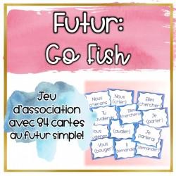 Le futur simple - Jeu de cartes - GoFish