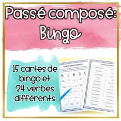 BINGO - Le passé composé