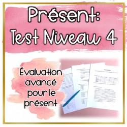 Test: Le présent niveau 4