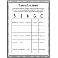 Futur Simple - Bingo