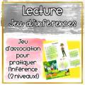 Jeu d'inférences - Lecture (Sujet: La forêt)