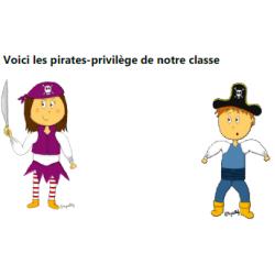 Passes d'autonomie thème pirate