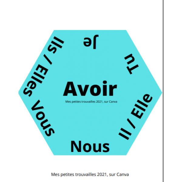 Course aux verbes