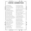 Cahier de poésie - 3e cycle