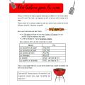 Raisonner 3e cycle - Un barbecue pour la cause