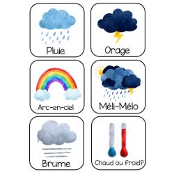 météo préscolaire