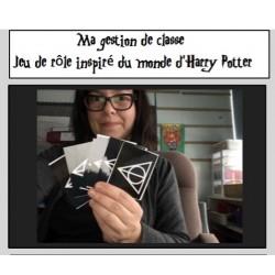 Mon jeu de rôle inspiré d'Harry Potter