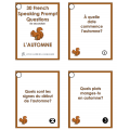 L'automne - French speaking prompts - Autumn