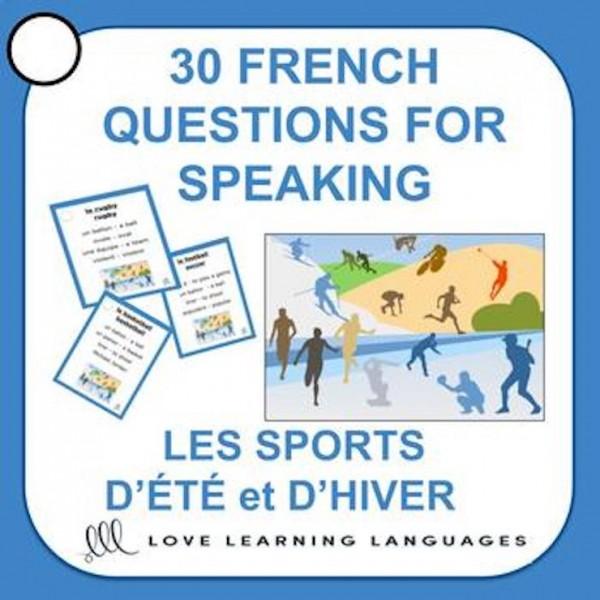 French Speaking -Les sports d'hiver et d'été