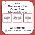 ESL - ELL 83 Conversation and Speaking Prompts