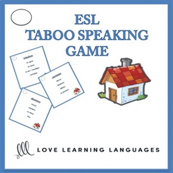 ESL Taboo Game - House and Home