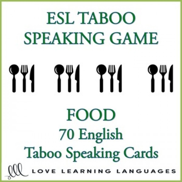 Food - English Game - ESL