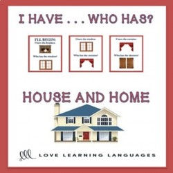 I have ... Who has? ESL house activity
