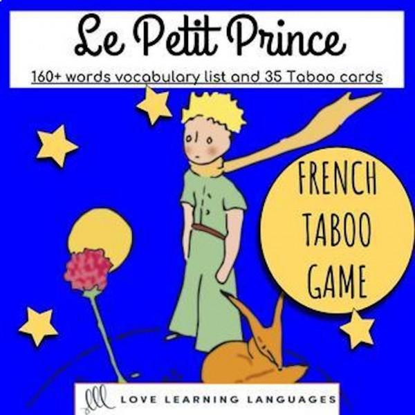 Le Petit Prince - Tabou - Français et Anglais