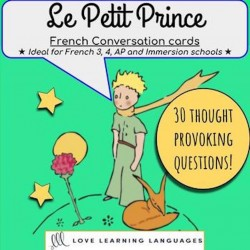 Le Petit Prince - Questions de discussion