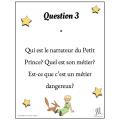 Le Petit Prince - Questions de discussion