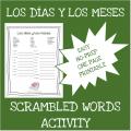 Spanish months and days - Los días y los meses