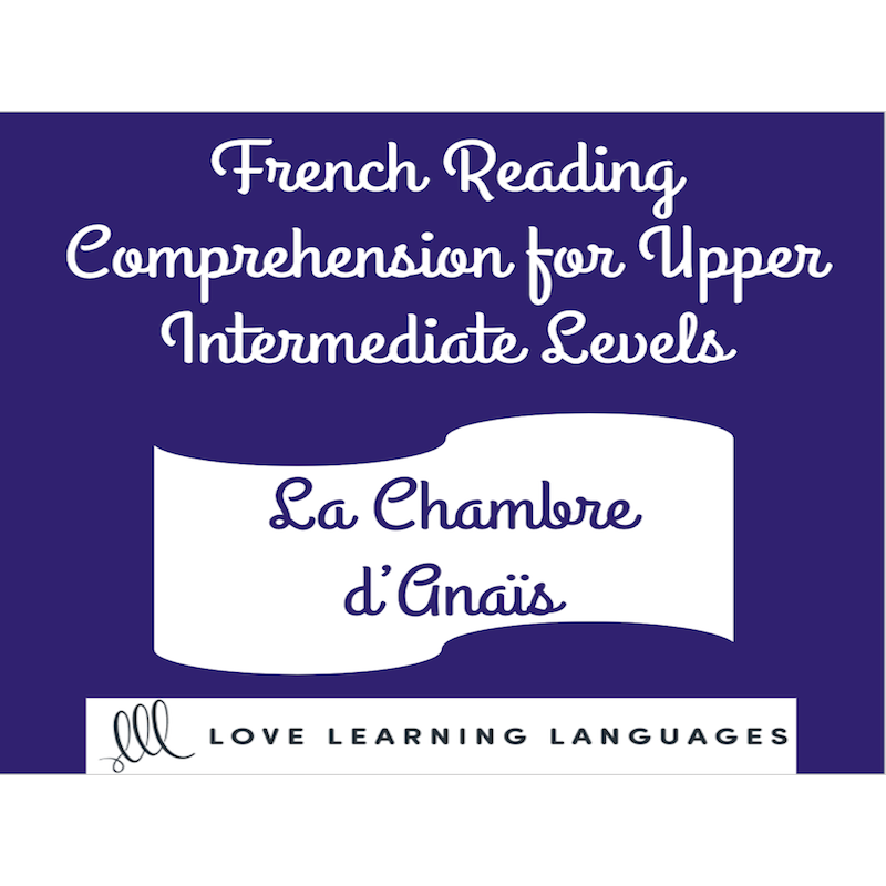 French reading for upper intermediate levels