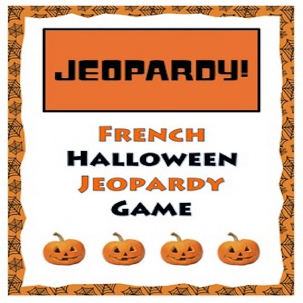 French Halloween Jeopardy Game