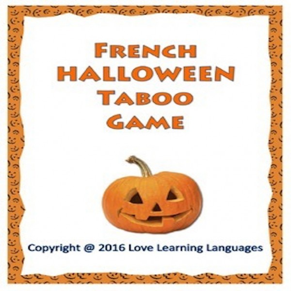 French Halloween Taboo Game
