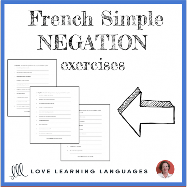 Simple French Negation Exercises