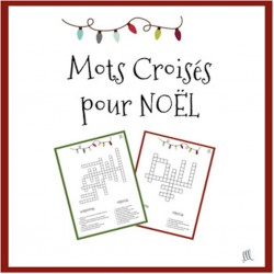 French Christmas Crosswords - Mots Croisés - Noël