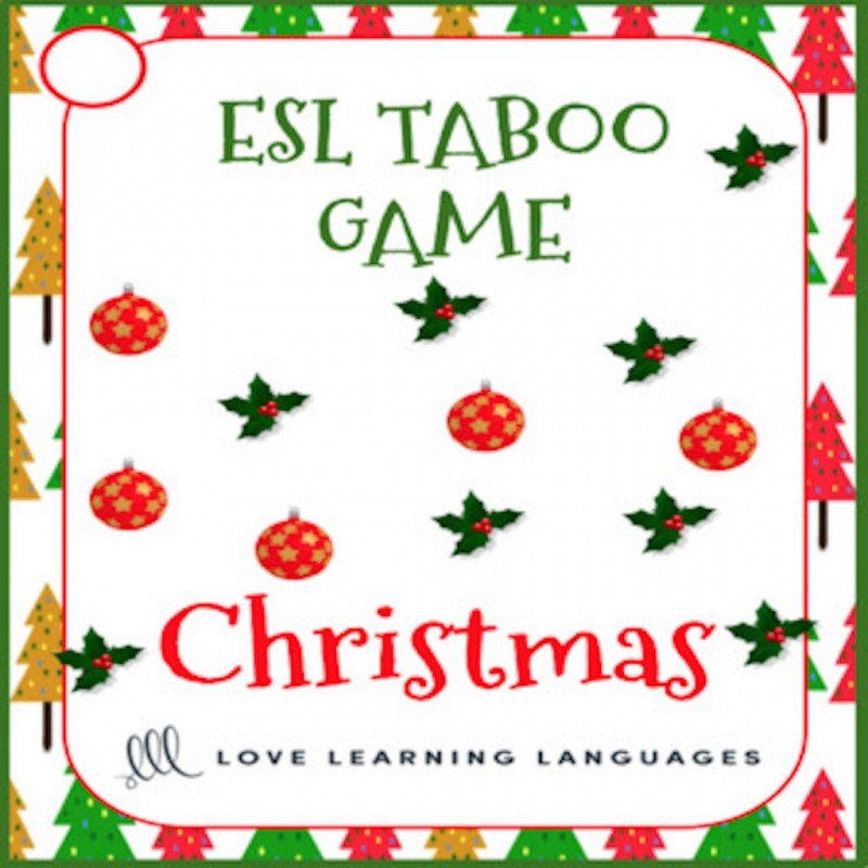 Taboo Speaking Game In English