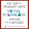 English Winter Taboo Speaking Game