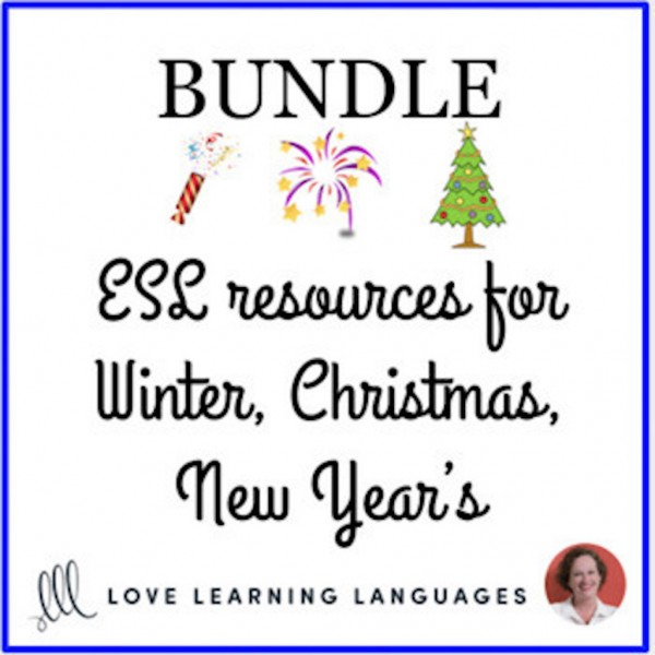 Christmas & Winter Holidays ENGLISH BUNDLE