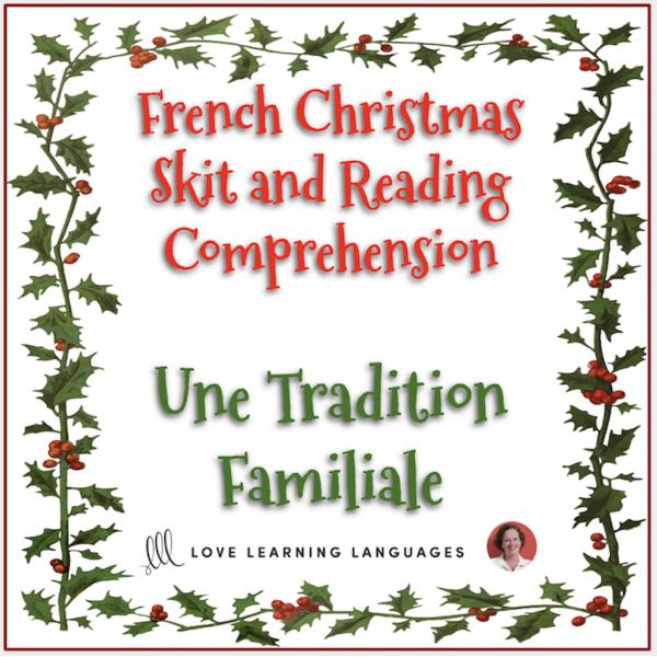 Noël - Mini-dialogue - Compréhension de Lecture