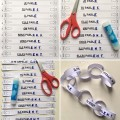 French ER Verbs Conjugation Chains - 5 Tenses