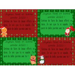 Messages de Noël pour les élèves