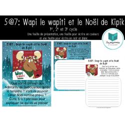 5@7 : Wapi le wapiti et le Noël de Kipik