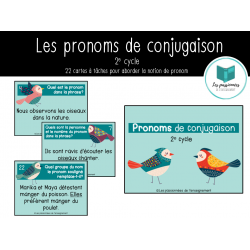 Les pronoms de conjugaison