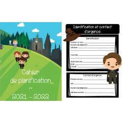 Cahier de planification 2021-2022, Harry Potter