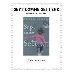 Carnet de lecture - Sept comme Setteur
