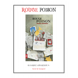 Carnet de lecture - Rouge poison