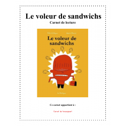 Carnet de lecture - Le voleur de sandwichs