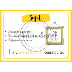 Affiches de français - 2e cycle