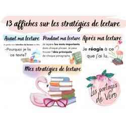 Affiches - Mes stratégies de lecture