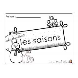 mon petit cahier des saisons