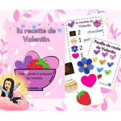 Atelier préscolaire : la recette de Valentin