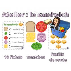 Atelier mon sandwich
