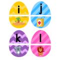 Atelier oeufs : alphabet et images